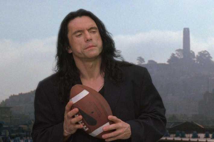 """Tommy Wiseau i kultrullen """"The room"""" (2003)."""