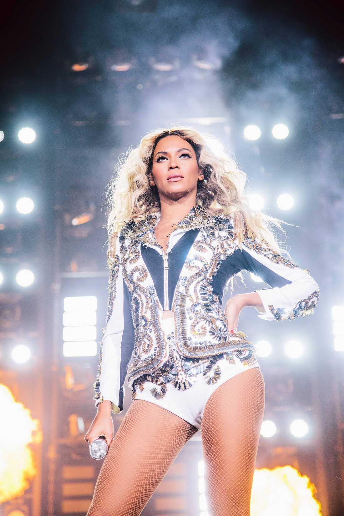 Nummer 1. Beyoncé, sångerska.