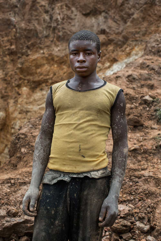 NICLAS HAMMARSTRÖM Sibo Mana 15, har jobbat i gruvan sedan han var tolv år gammal.