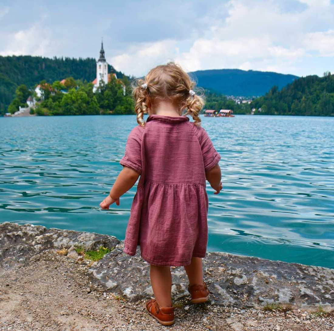 Bledsjön i Slovenien.