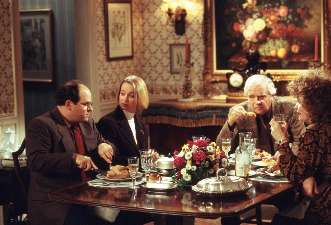 """Han spelade även rollen som George Costanzas svärfar i """"Seinfeld""""."""