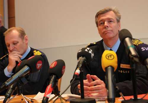 Polisen i Skåne höll presskonferens på onsdagen.