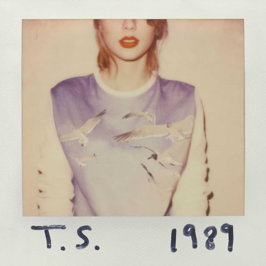 """Taylor Swifts senaste album """"1989"""" kom aldrig ut på Spotify."""