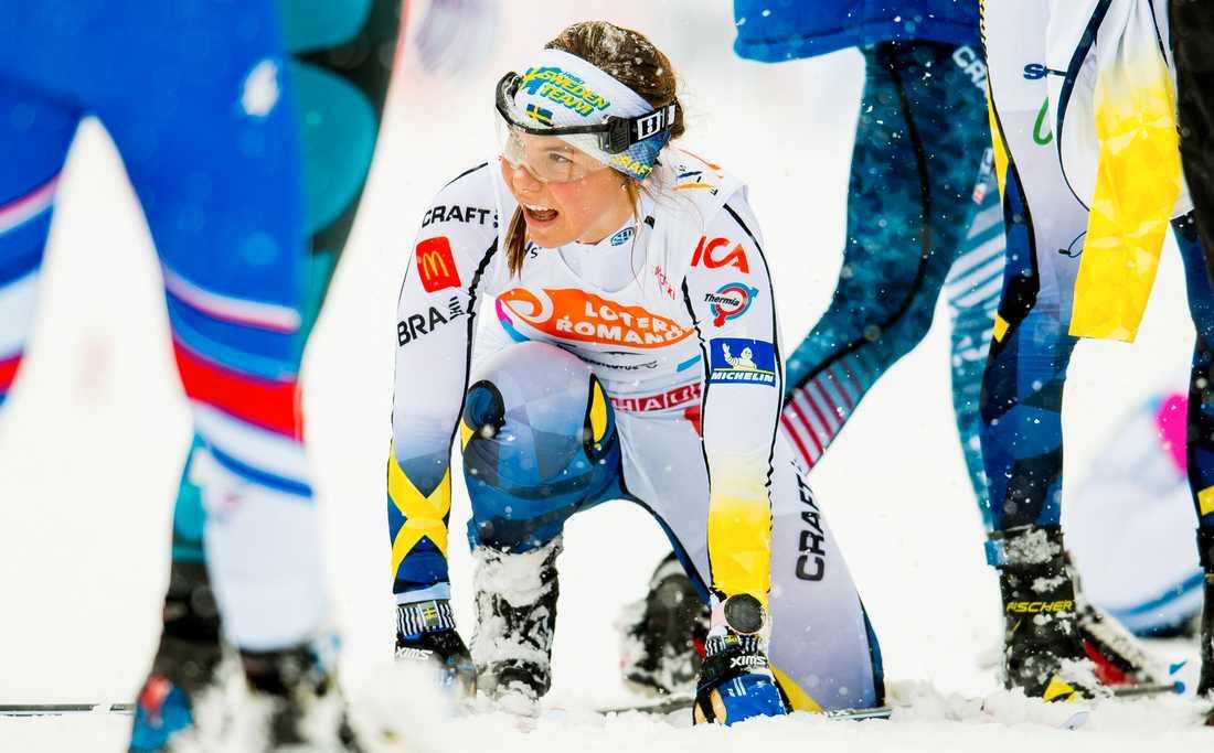 Johanna Hagström skrällde