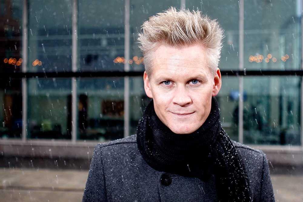 """Henrik Fexeus, 42 år, tankeläsare, författare, Stockholm """"Andas djupt, bebisen går inte sönder."""""""