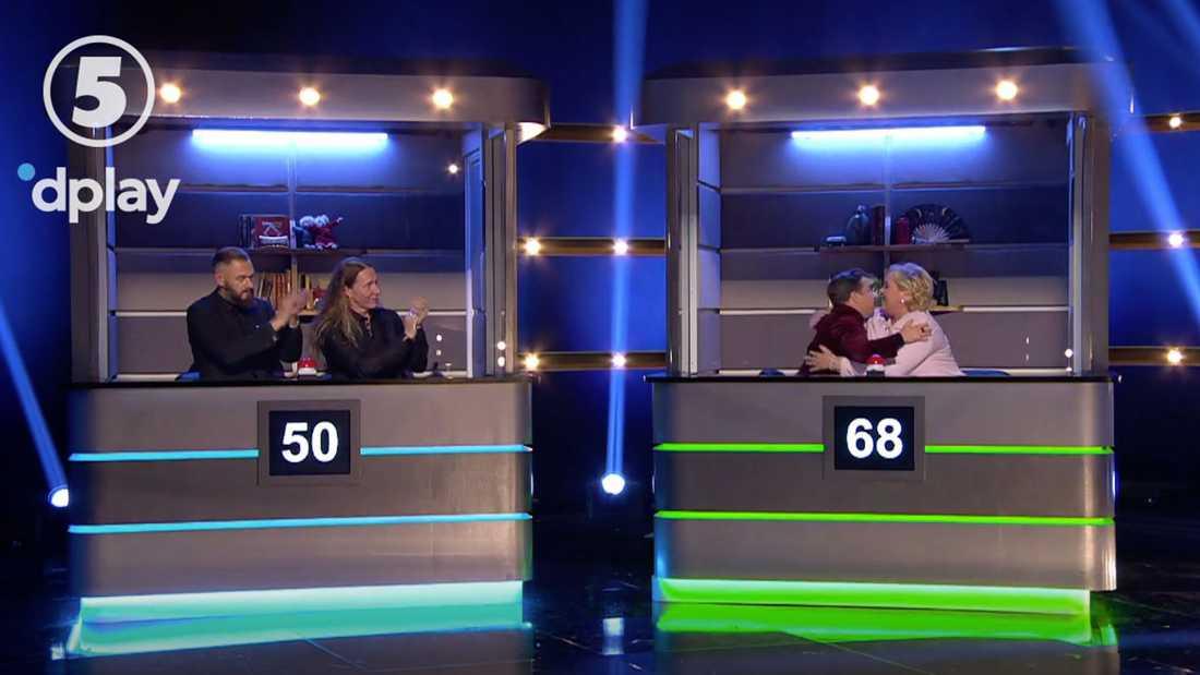 David Sundin och Suzanne Axell vann till sllut med betryggande 18 poängs marginal.