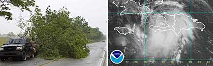Orkanen Fay har nu tilltagit i styrka och turister uppmanas lämna Florida Keys.