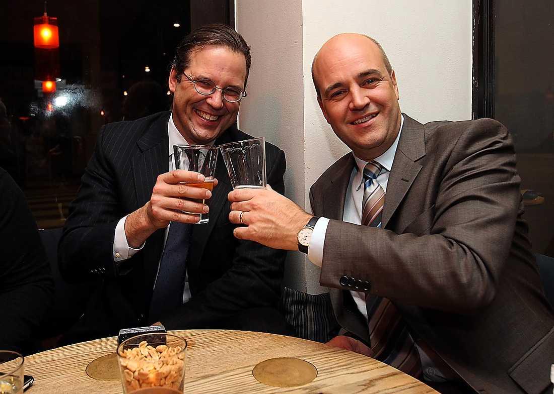 Det har spekulerats i att Anders Borg skulle vara en möjlig efterträdare till Fredrik Reinfeldt. Moderaternas radarpar har länge visat en enad front.