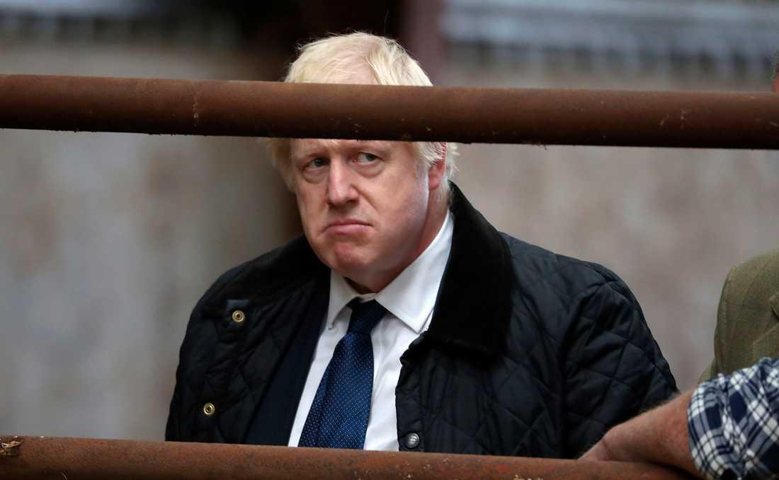 Boris Johnson har det inte lätt.