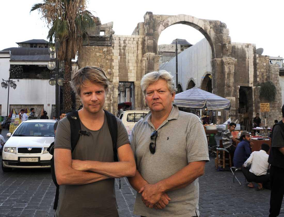 I augusti 2011 lyckades Aftonbladets Staffan Lindberg och Urban Andersson ta sig in i det stängda Syrien och Aftonbladet kunde som ett av få media i världen på plats rapportera från konflikten.