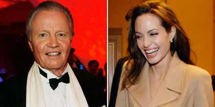 Jon Voight och Angelina Jolie är sams igen.