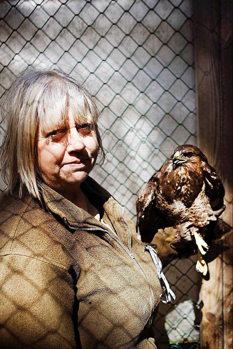 """ViltvårdareEwa Kierkegaard i det populära barnprogrammet """"SOS – vilda djur"""" har blivit av med alla sina djur på grund av vanvård."""