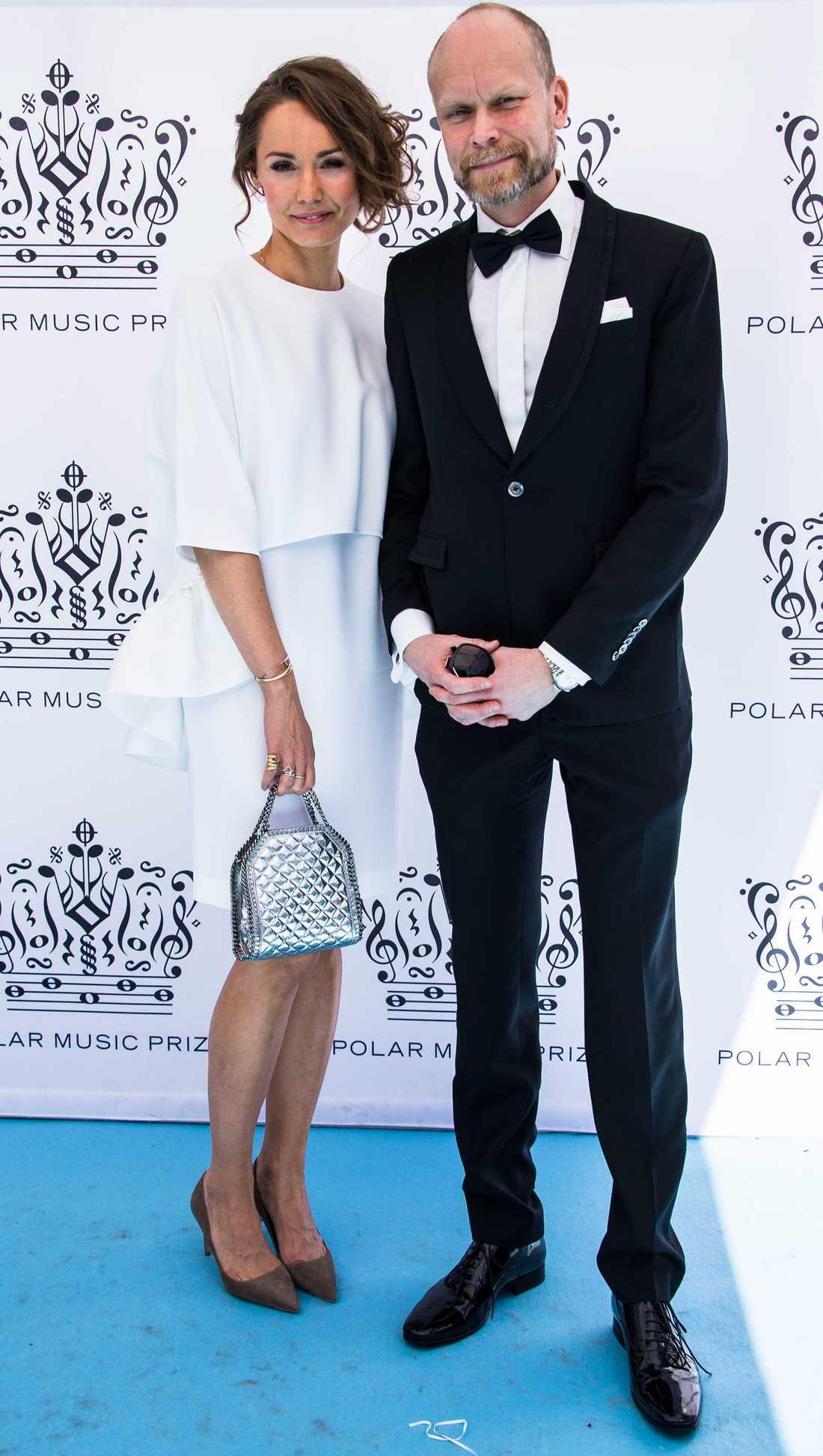 Carina Berg och Kristian Luuk skiljer sig.