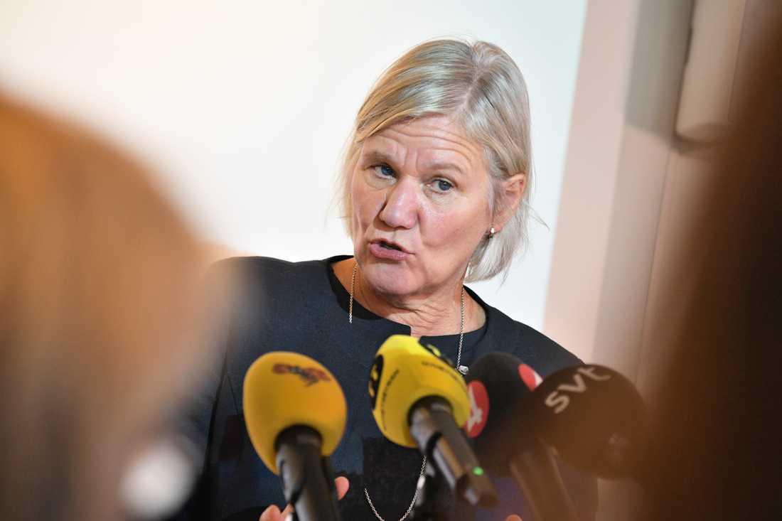Ann-Marie Begler presenterade på onsdagen sin utredning av hur Ystads kommun hanterat fallet med de gömda barnen.