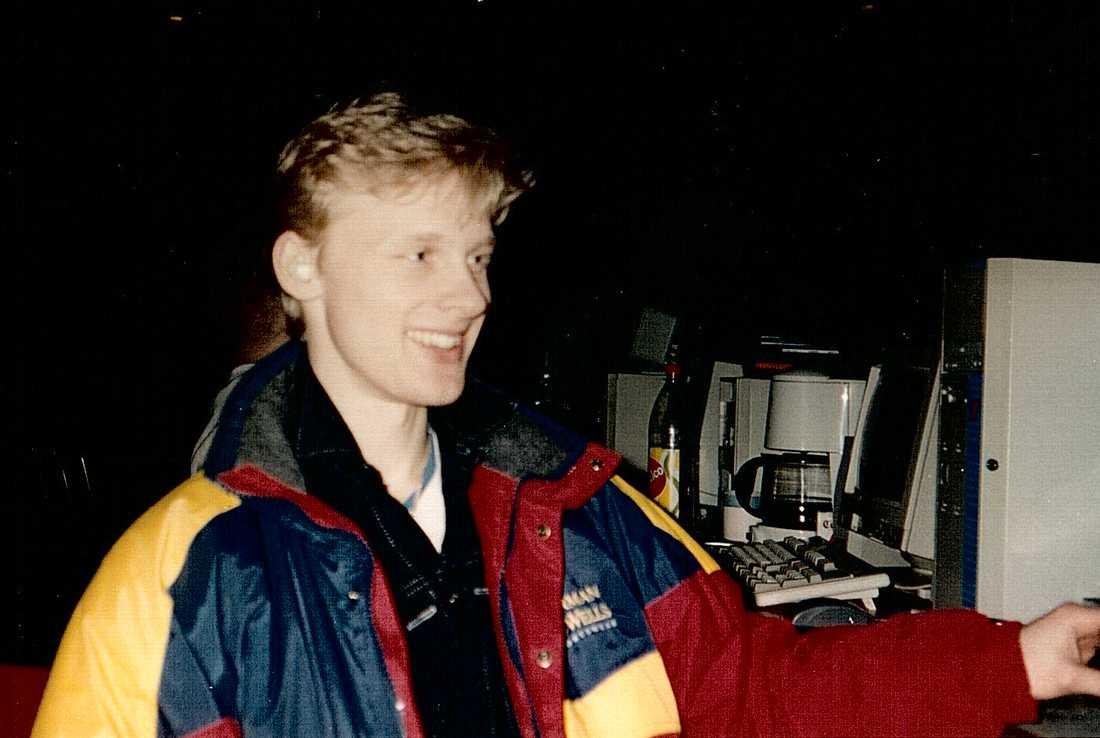 Krister Karlsson år 1993.