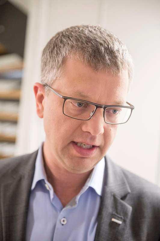 Moderaternas partisekreterare Kent Persson.