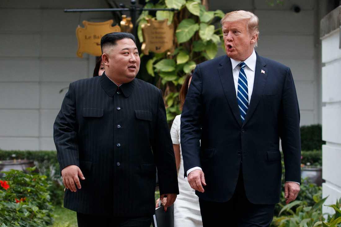 Nordkoreas diktator har lyckats lura Donald Trump, skriver Wolfgang Hansson.