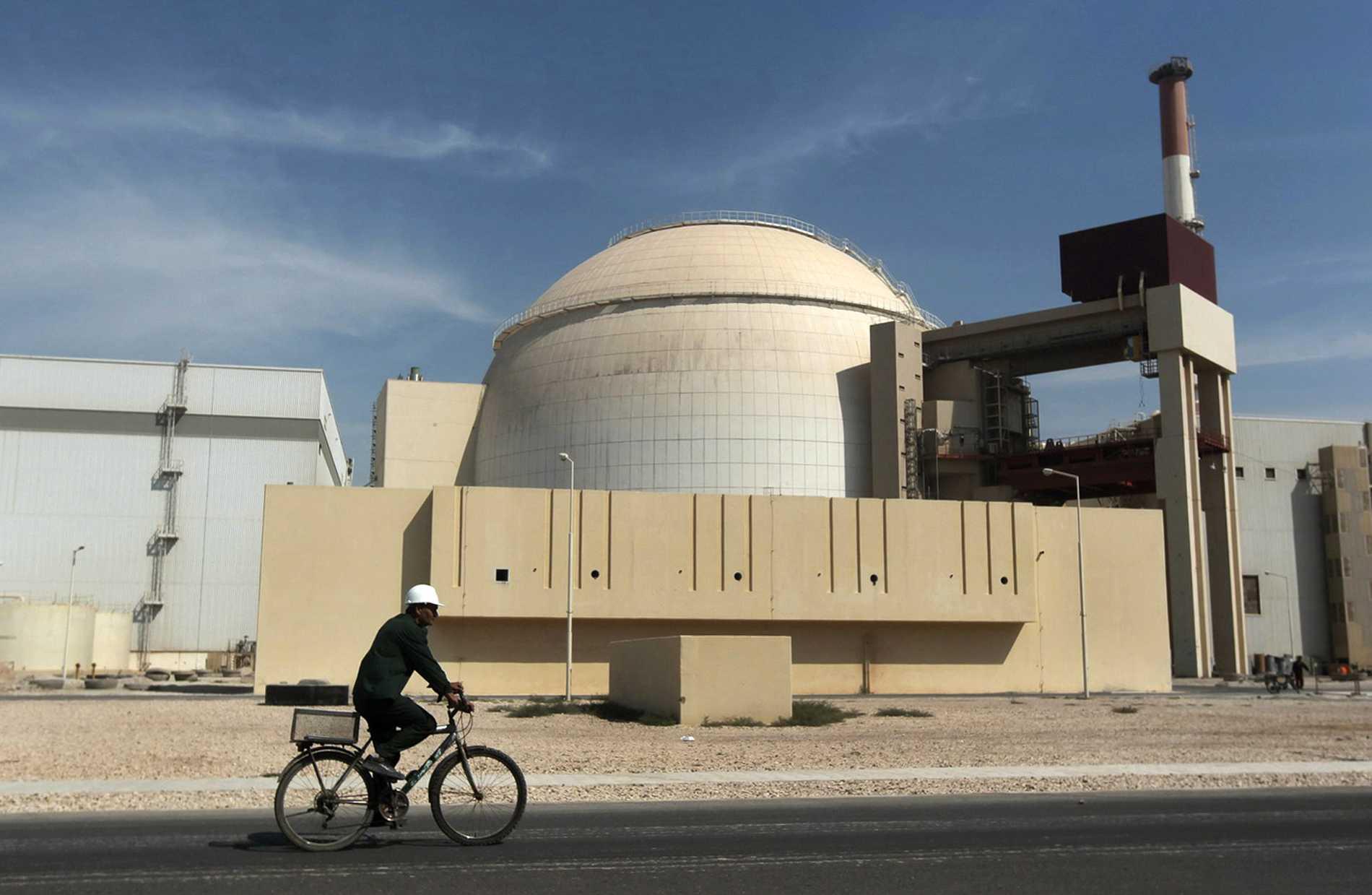 Kärnkraftverket Bushehr ligger i södra Iran. Arkivbild.