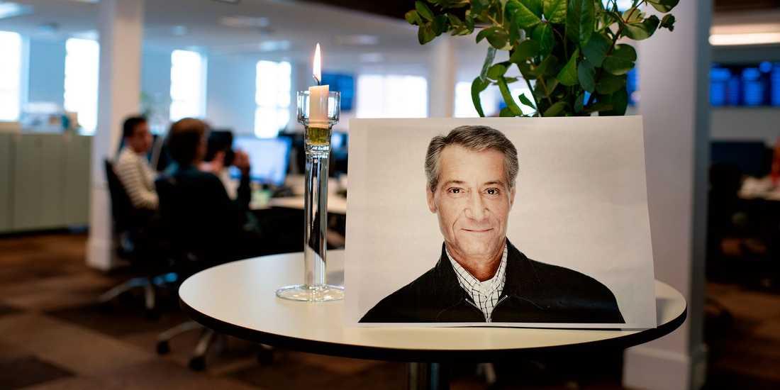 Tomas Oneborg, prisbelömt fotograf på Svenska Dagbladet, blev 62 år gammal.