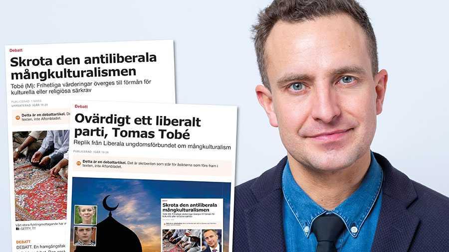 Den som värnar liberala värderingar och ett sammanhållet samhälle bör också ta ställning mot mångkulturalismen, skriver Tomas Tobé.