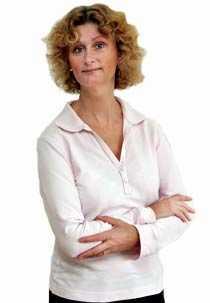 Mary Mårtensson, reporter och krönikör/kvinnohälsa.