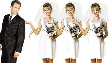 Har du gift dig i ett land som tillåter månggifte är svenska myndigheter också tvungna att godkänna äktenskapen. Bilden är ett montage.