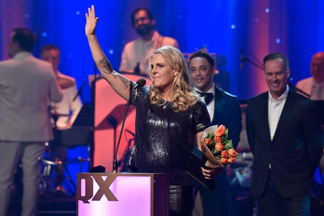 """Jenni Steiner vinner priset i kategorin """"Årets vardagshjälte""""."""