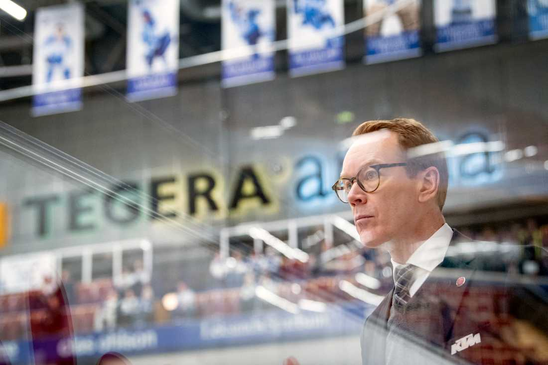 Örebros tränare Niklas Eriksson.