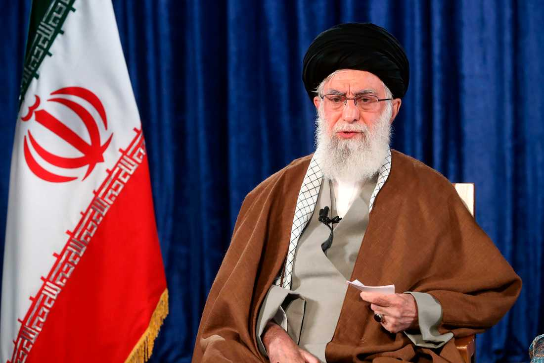 Irans högste ledare ayatolla Ali Khamenei.