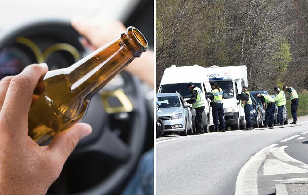 Andelen omkomna med alkohol i blodet ökar.