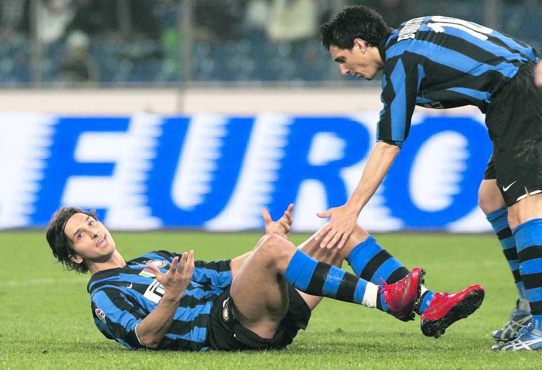 PLATT FALL Ännu en Zlatan-flopp med Inter i Champions League är ett faktum. I dag kan det bli ett fall med Barcelona också.