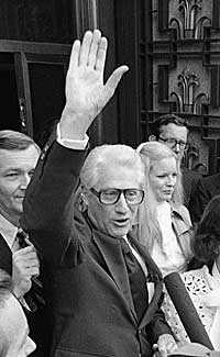 """Förre andremannen i FBI, Mark Felt"""" på arkivfoto från 1978."""