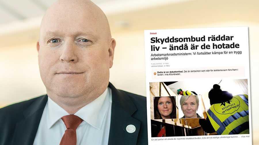 En av de saker som Socialdemokraterna inte vill tala om är att deras förslag gällande tillträdesrätten för skyddsombud skulle stänga ute en stor del av svenska löntagare, skriver Magnus Persson, SD.