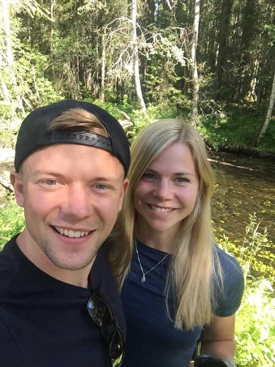 Fredrik Hedbys och Eva Rosquist är nu äkta makar.