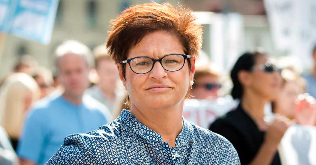 Vårdförbundets ordförande Sineva Ribeiro.