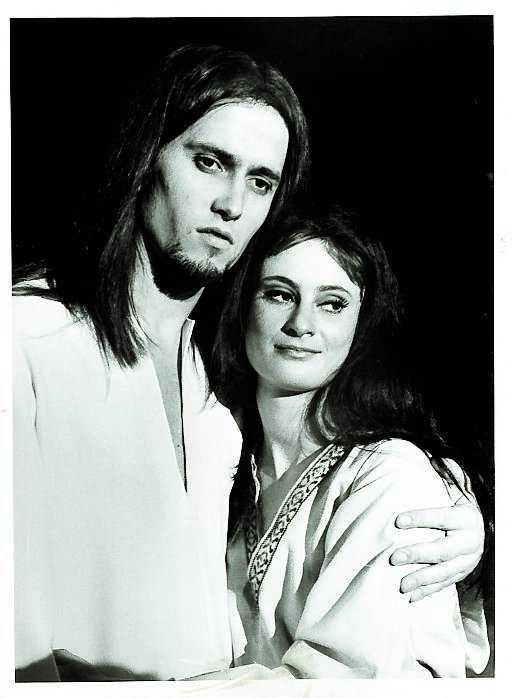 Bruno Wintzell spelade Jesus.