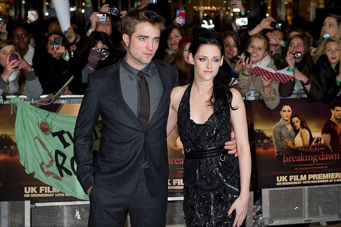 KÄRLEKSSAGAN ÖVER?  Robert Pattinson och Kristen Stewart.