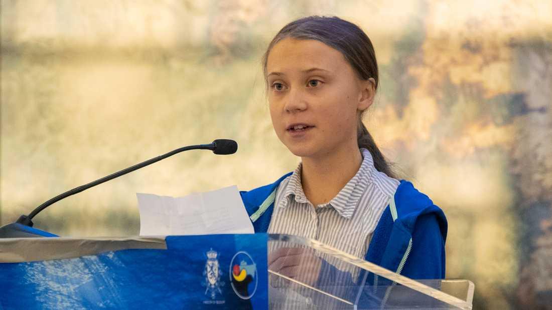 """Greta Thunberg är årets raket på Medieakademin maktbarometer. """"Det finns ingen i vår historia som har kommit från ingenstans och fått ett sådant digitalt avtryck""""; säger Emanuel Karlsten, ordförande i Medieakademin."""