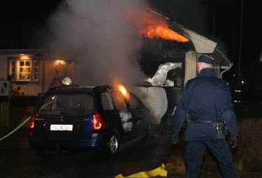 I Katrineholm inträffade en brand i en avstängd parkerad 307:a i våras.