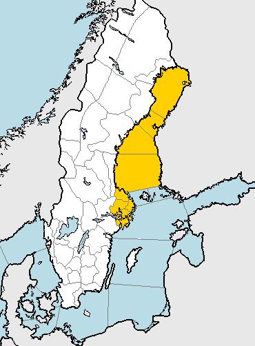 SMHI har utfärdat en klass 1-varning för stora snömängder i Stockholms län och Uppsala län.