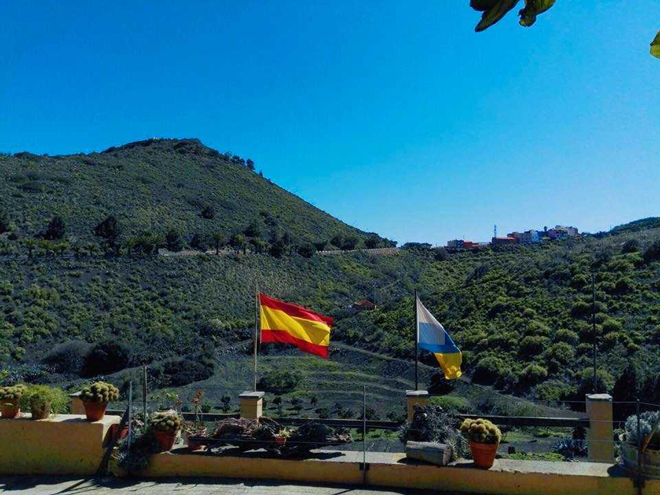 Utsikten från restaurangen.