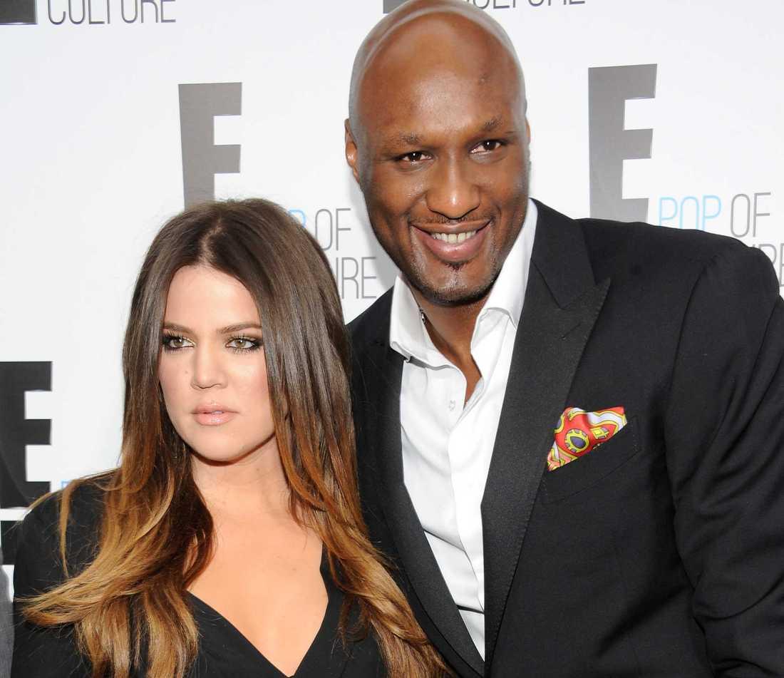 Lamar Odom och Khloe Kardashian 2012.