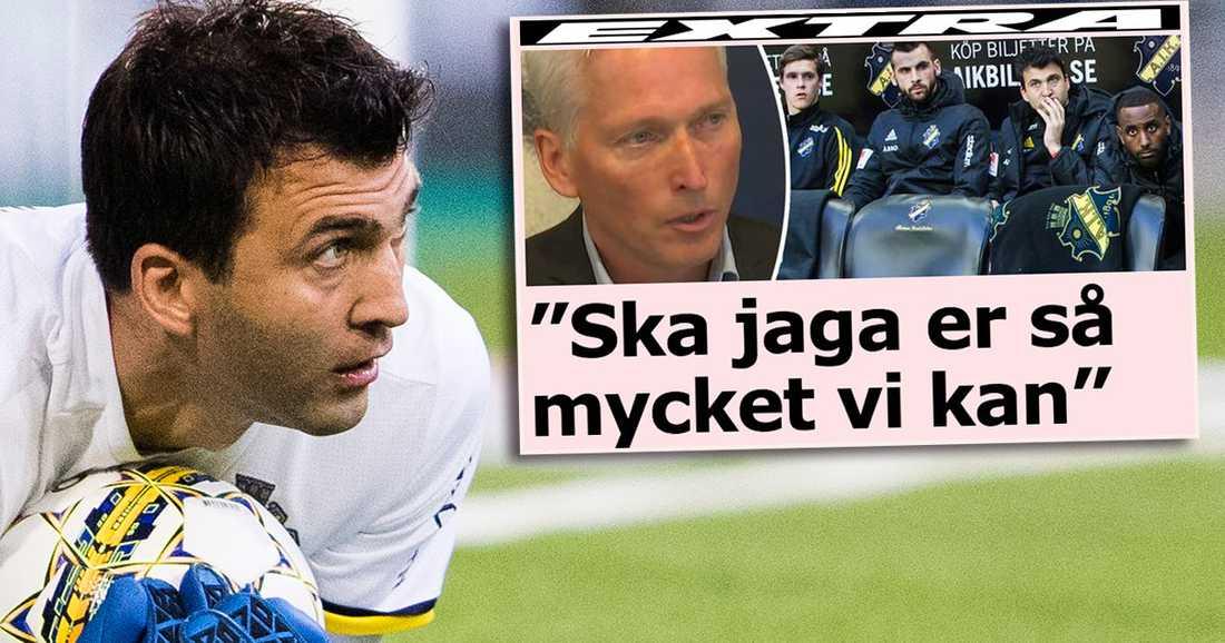 Kyriakos Stamatopoulos var den AIK-spelare som erbjöds mutor inför den inställda matchen mot IFK Göteborg i våras.