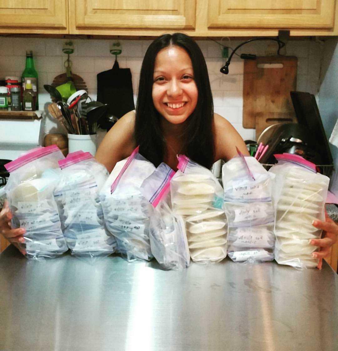 Över 60 liter bröstmjölk har Wendy donerat för att hjälpa nyblivna föräldrar.