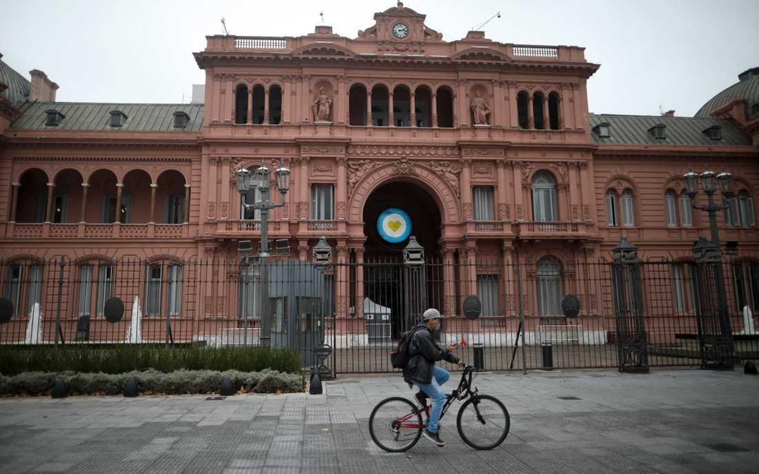 Strikta restriktioner råder fortfarande i Argentinas huvudstad Buenos Aires. Arkivbild.