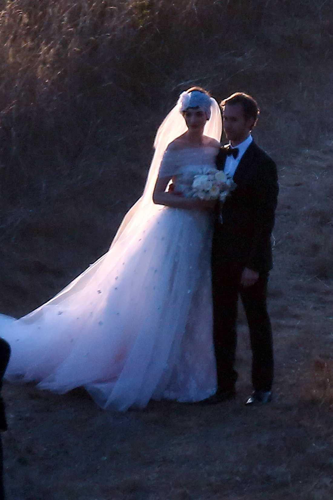 Bröllopet ägde rum i Big Sur i Kalifornien.