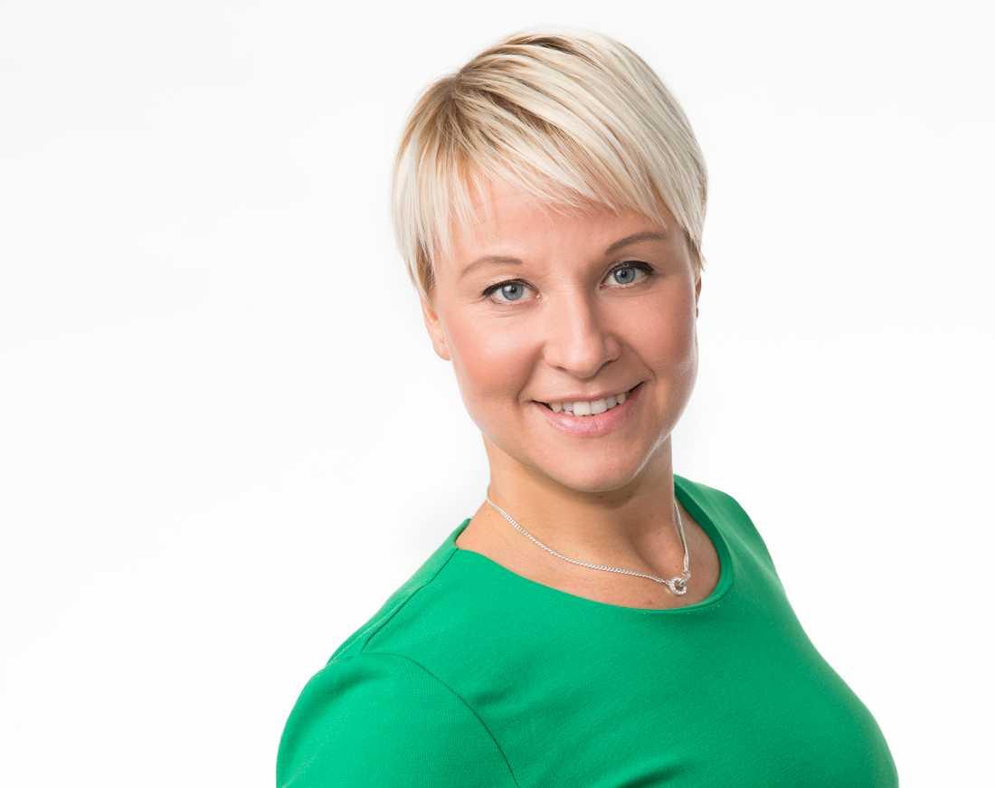 Anna Tenje. Kommunstyrelsens ordförande i Växjö.