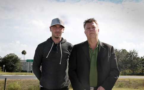 Aftonbladets team: Magnus Wennman och Wolfgang Hansson.