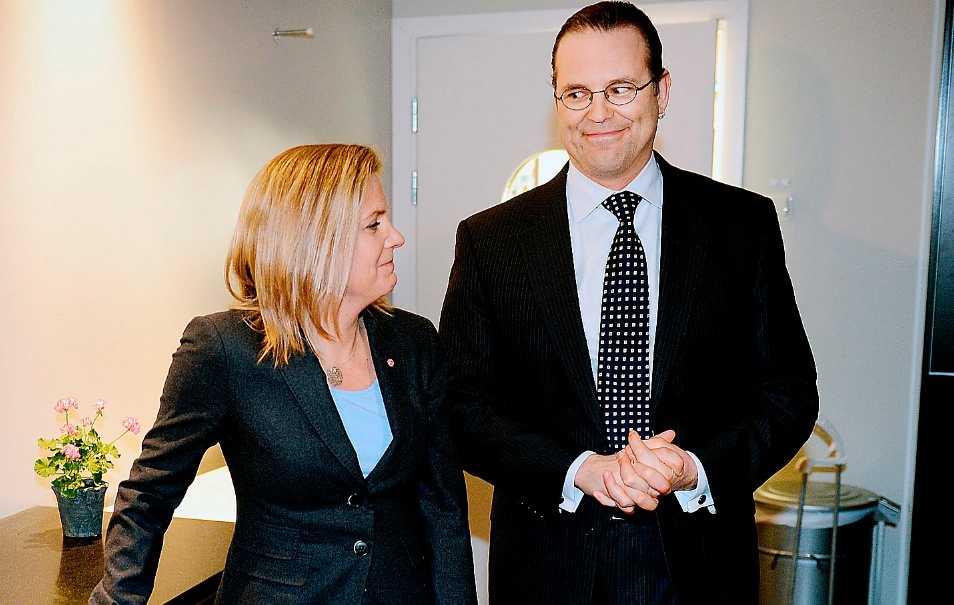 I KÖR Om Europa fortsätter på den inslagna vägen spricker EMU – men den insikten har inte nått Anders Borg. Och värre är att Magdalena Andersson (S) inte säger emot.