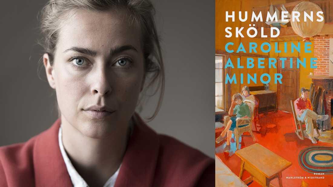 """Den danska författaren Caroline Albertine Minor fick ett stort genombrott med novellsamlingen """"Välsignelser"""", och utkommer nu med """"Hummerns sköld""""."""